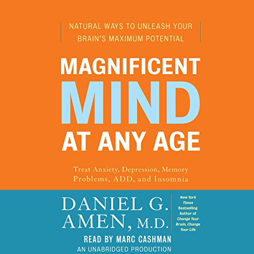 Magnificent Mind at Any Age audiobook cover art