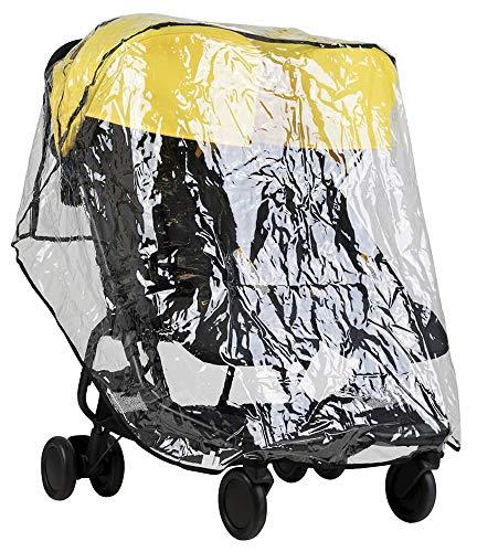 Protection contre la pluie « storm cover » pour poussette Mountain Buggy Nano Duo V1 – avec sac pratique