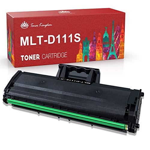 Toner Kingdom Compatibile Cartuccia Toner per Samsung MLT-D111S 111S per Samsung Xpress M2026W M2026 M2070 M2070W M2070FW M2020 M2020W M2022 M2022W (1 Pezzo)