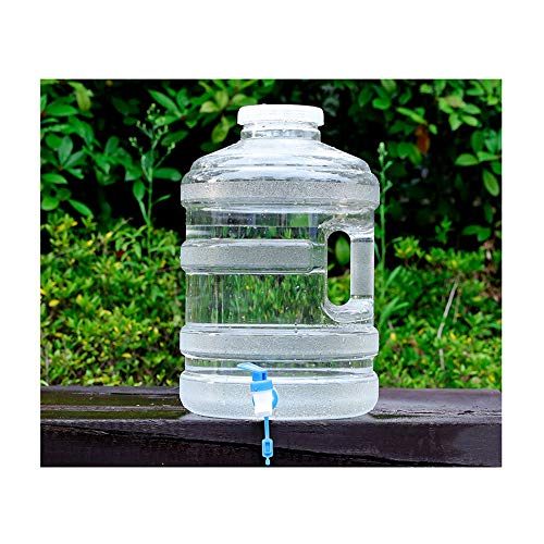 YXYXX Tanque De Agua Bidón, El diámetro de la Funda es de 10 cm, que se Utiliza para Autocaravanas Familiares, Varios Tamaños. / Transparente / 18.9L
