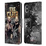 Head Case Designs Licenza Ufficiale WWE Karl Anderson & Luke Gallows The O.C. Cover in Pelle a Portafoglio Compatibile con Apple iPhone X/iPhone XS