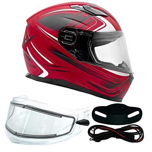 Typhoon Helmets Adult Full Face Snowmobile Helmet