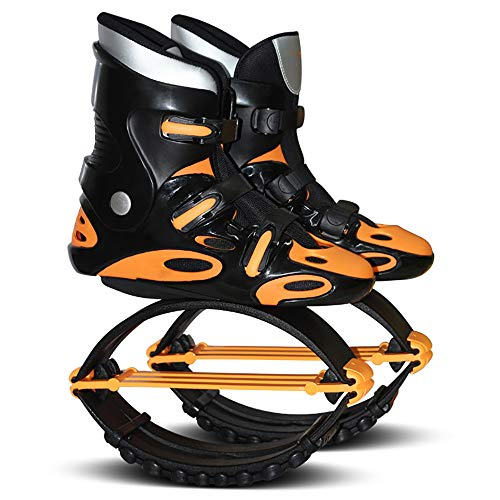 BrightFootBook Rebound Shoes,Jump Shoes Stilts Bounce Shoes,Anti-Gravity Bouncing Shoes Jumping Shoes For Adult Female Male, Weight Load Range50-110Kg,Orange-44