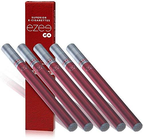Ezee Go Einweg E-Zigarette Tabak-Geschmack E-Liquid Nikotinfrei Elektronischer Verdampfer 285mAh Akku Weiche Spitze E Shisha 5 Stück
