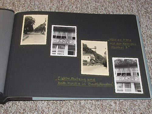 Dekoratives Fotoalbum DDR um 1950-1952