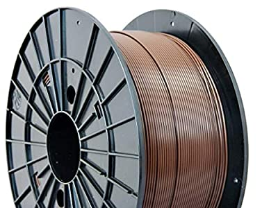Czech-Made PLA, Brown, ? 1.75 mm, 1 kg Spool, 3D Printing Filament from Filament PM
