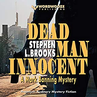 Dead Man Innocent audiobook cover art