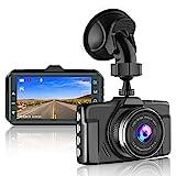 【2021 Nouvelle Version】CHORTAU Caméra Embarquée Voiture 1080P 3 Pouces Caméra de Voiture...