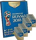 Panini WM Russia 2018 - Sticker - 1 Album + 20 Tüten -
