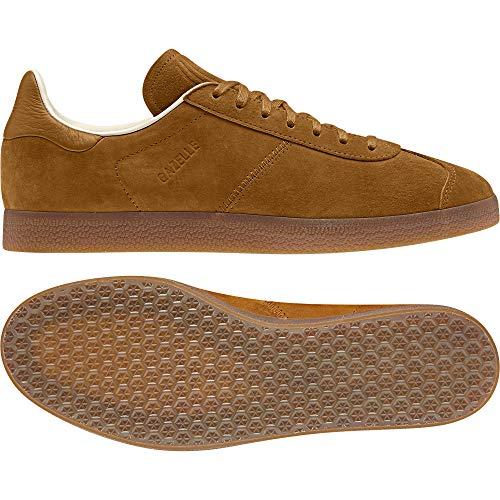 ADIDAS ORIGINALS Gazelle Zapatillas Moda Hombres Marron Clair/Beige/Rose - 37 1/3 - Zapatillas Bajas