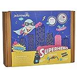 jackinthebox Superhero DIY Dress up Art and...