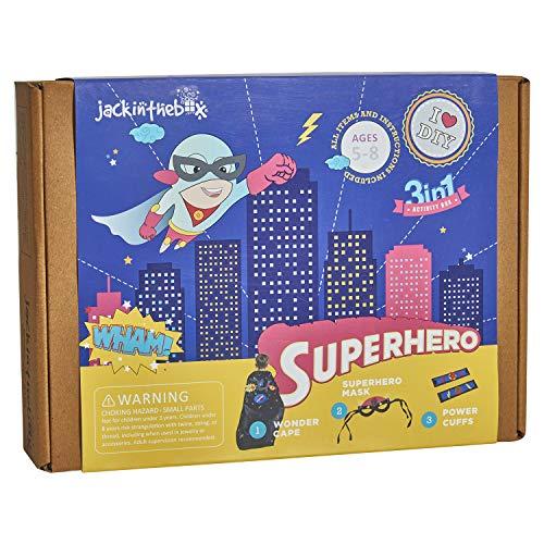 jackinthebox Superhero DIY Dress up Art and Craft...