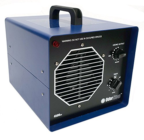 OdorStop OS4500UV Professional Grade Ozone Generator Ionizer for Areas of 4500 Square Feet+, For Deodorizing and Purifying Large Spaces Such as Commercial Properties and Gyms