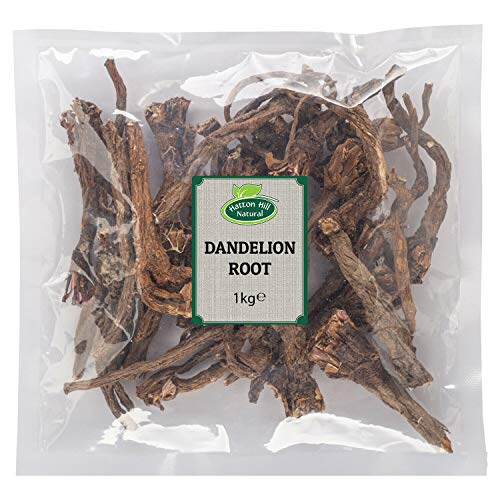 Dried Whole Dandelion Root 1kg by Hatton Hill - Free UK Delivery