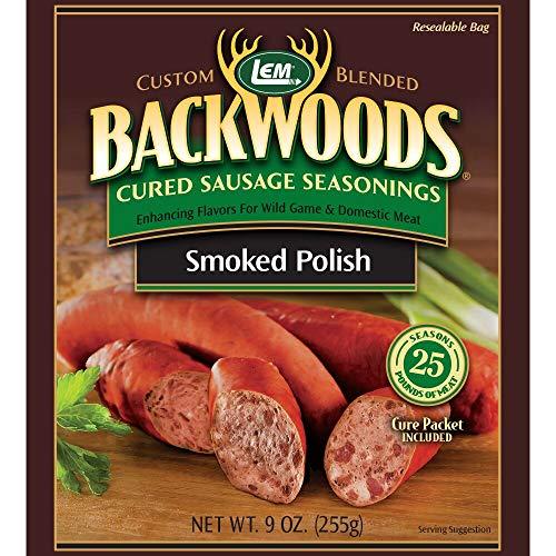 LEM Backwoods Cured Sausage Seasoning with Cure Packet, Bratwurst
