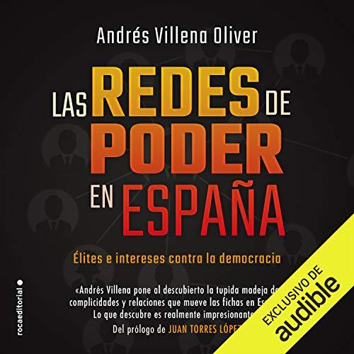 Diseño de la portada del título Las redes de poder en España