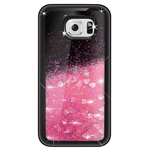 Caler Liquida Glitter Cristal Funda Compatible para Samsung Galaxy S7 Edge [con...