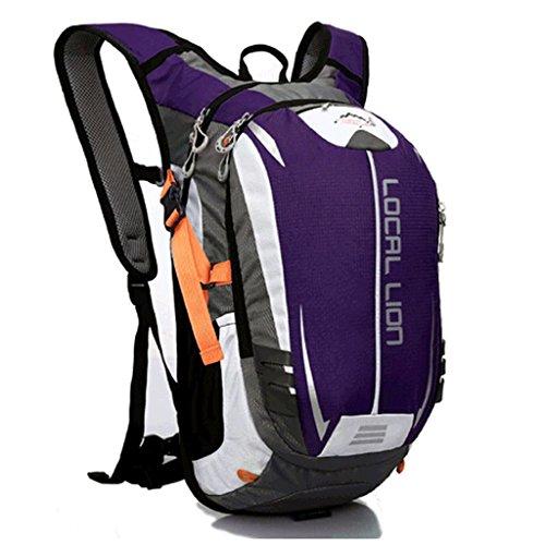 Outdoor sac à dos de sport package multifonctionnel peut être placé sur un sac à dos casque équitation randonnée