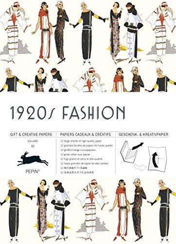1920s Fashion: Gift & Creative Paper Book Vol. 93 (Gift & creative papers (93))