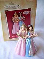 2004 Hallmark Ornament Barbie As The Prince And The Pauper Item height is 3.5 inches These are from a Hallmark store that closed down in 2005, never owned Comes with original box and packing material Free Shipping