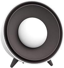 Yuan Dun'er Calefactor Aire Caliente baño,Calentador de Mano eléctrico de Calentamiento rápido de 400 W Mini Calentador de Mano Desmontable Ventilador de Viento Caliente de Escritorio de 220 V-Blanco