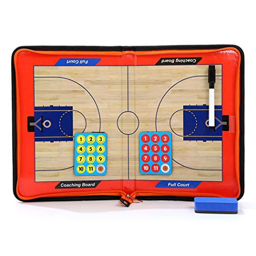 Fansport Tactics Board Tragbare, Faltbare Magnetische Basketballtafel
