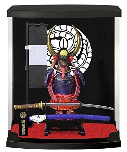 Authentische Samurai Figur/Puppe mit Rüstung: Rüstungs-Serie: #21-Kuroda