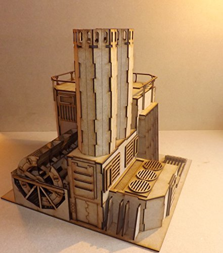 HydroCarbon Power Plant - Wargames Building/scenery/terrain for warhammer 40k, Infinity, Legion Necromunda and 28mm wargaming