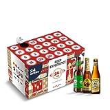 Beer Experience Calendario dell'Avvento Birra Variety Pack, Pacco da 24 Bottiglie