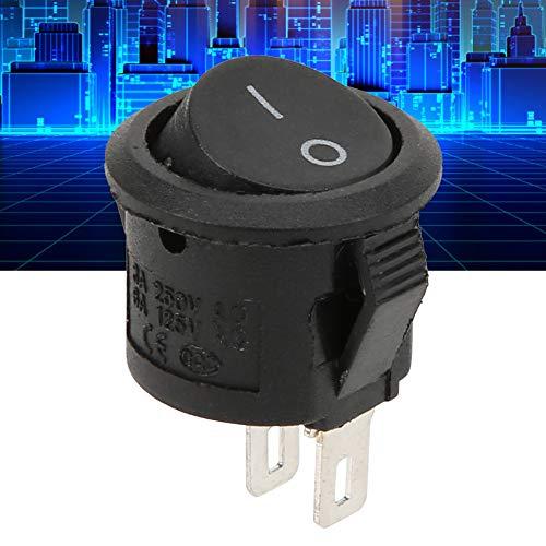 Interruptor de encendido, interruptor simple de 2 pines y 2 posiciones, oficinas de electrodomésticos para el hogar en interiores
