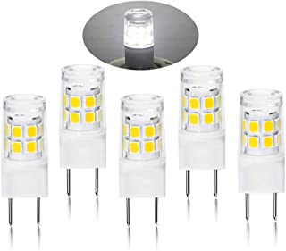 G8 LED Light Bulb 2.5 Watts Daylight White - G8 Base Bi-pin Xenon JCD Type LED 120V 20W Halogen Replacement Bulb for Under Counter Kitchen Lighting, Under-Cabinet Light.Pack of 5 (Daylight White)
