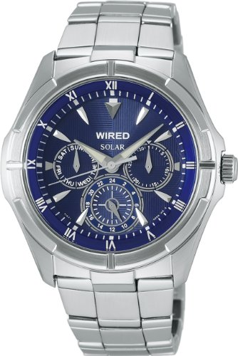『[セイコーウォッチ] 腕時計 ワイアード カーブハードレックス ソーラー AGAD033 シルバー』のトップ画像