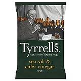 Tyrrells Sea Salt & Cider Vinegar Crisps - 150g