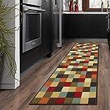 "Ottomanson otto home collection runner rug, 21"" X 59"", Multicolor Checkered"