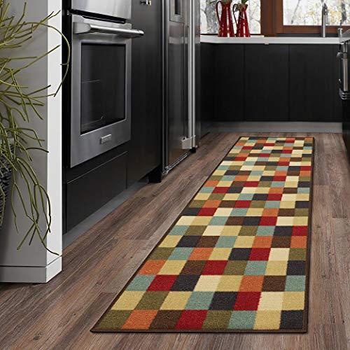 Ottomanson otto home collection runner rug, 21' X 59', Multicolor Checkered