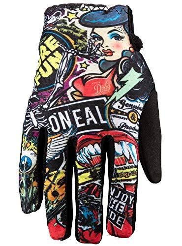 O'NEAL | Fahrrad- & Motocross-Handschuhe | Kinder | MX MTB DH FR Downhill Freeride | Langlebige, Flexible Materialien, belüftete Handoberseite | Matrix Youth Glove Crank | Schwarz | Größe M