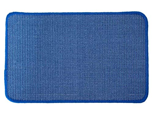 Primaflor - Ideen in Textil Tapis Griffoir pour Chats - Bleu 160 x 240cm,Tapis Grattoir Chat, Résistant avec Surface en 100% Fibres Naturelles Sisal, Plusieurs Tailles