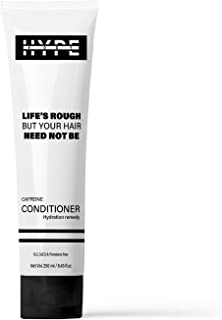 HYPE BODY Caffeine Hair Conditioner with Argan Oil, 250 ml, No Sulphates & Parabens, Hydration Remedy, Silicone-Free