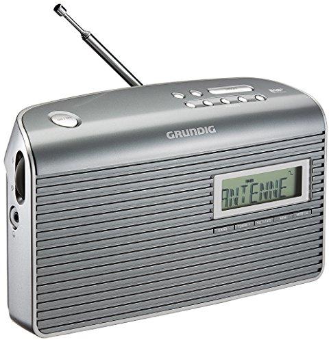 Grundig Music 7000 DAB+ Radio, grau/silber