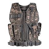 Himal Sports-Vest,600D Encryption Polyester Adjustable Lightweight Comfortable-Vest ACU
