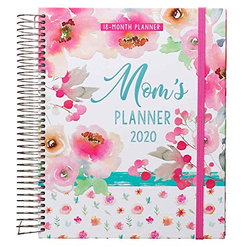 Christian Art Gifts Weekly/Monthly Planner Mom's 18-Month Planner Personal Agenda Organizer for Women 2020 Wirebound