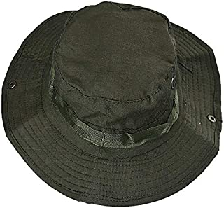 TOTOD Bucket Hat Boonie Hunting Fishing Outdoor Wide Cap Brim Military Unisex Couple