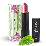 Botanical Lipstick (CHERRY PLUM) - Natural Lipstick - Made w/ Organic Ingredients - Gluten Free - Cruelty Free - Lead Free - Paraben Free - Moisturizing Lip Color - COLOR: FROSTED MEDIUM PINK
