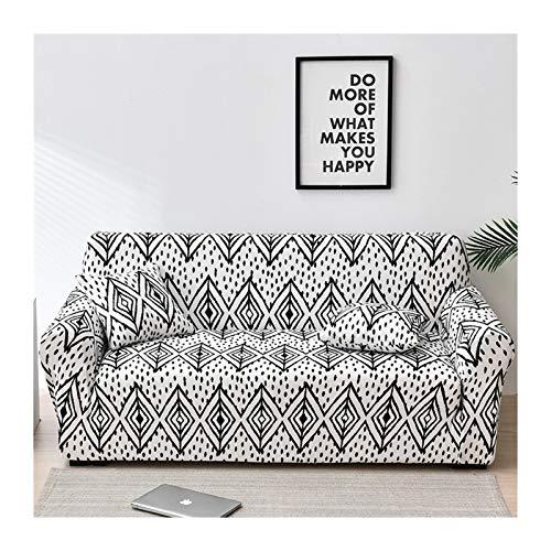 HUIJUNWENTI Cubiertas de sofá para Sala de Estar, Sofá Funda Elástica Sofá Sofa Sofa Sofa Toalla Cubierta Sofás con Chaise Longue 1pc (Color : Color 14, Specification : 1 Seat 90 140cm)