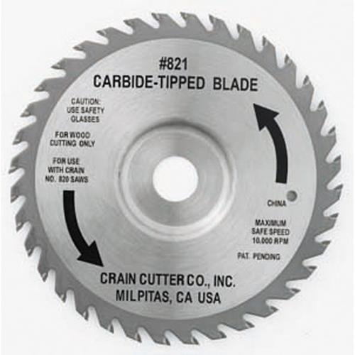 Best Bargain Kraft Tool FC538, Carbide Tipped Blade for Door Jamb Super Saw, Pack of 4 pcs
