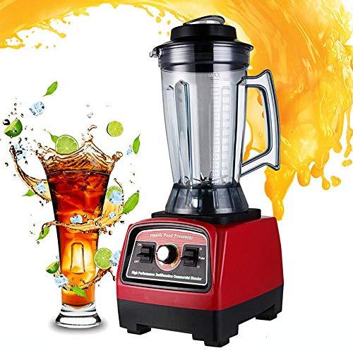 Blender Universal Mixer, 2800W Hochleistungsmixer 3.3HP Standmixer 2-in-1 Klingen 57000RPM 3.9L Standmixer Hochleistung