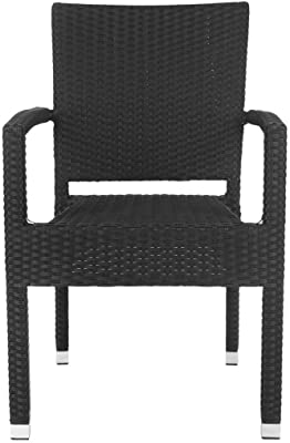 Amazon.com: modway Maine Patio Sillón de Comedor, Moderno ...