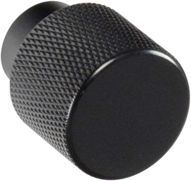 #6800 CKP Brand Linear Aluminum 1 Knurled Ranking TOP4 Knob New York Mall 25mm Black in.