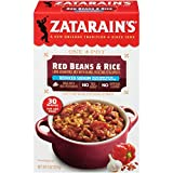 Zatarain's Reduced Sodium Red Beans & Rice, 8 oz (Pack of 12)