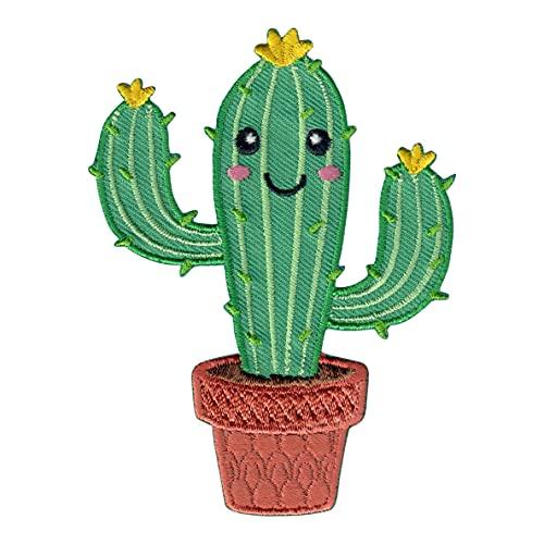 PatchMommy Cactus Parche Termoadhesivo Parche Bordado para Ropa - Parches Infantiles y Apliques para Niños